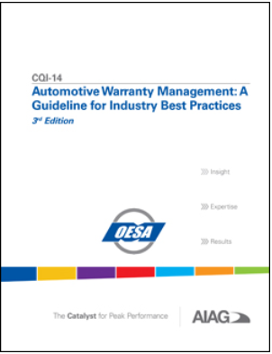 CQI-14 Warranty Management Guideline   TopQM-Systems global